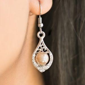 Westminster Waltz - Brown Earrings